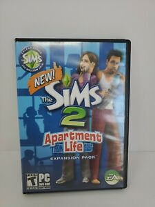 Sims 2: Apartment Life Expansion Pack (PC, 2008) Free Shipping