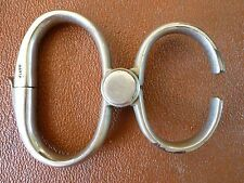hiatt police handcuffs, aka:- snaps, nipper, come along handcuffs