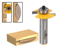 """#10 Biscuit Joint Slot Cutter Router Bit - 1/2"""" Shank - Yonico 14183"""