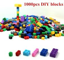 Bulk All Bricks Blocks Lot 1000 Pcs Lego Mixed Sizes Basic Building