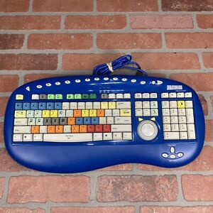 Bella Corp. 3101 Scroll Keyboard Professional for Adobe Premiere Blue