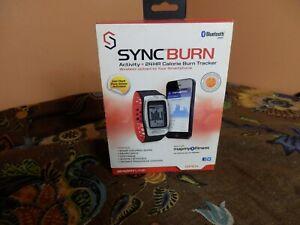 Sportline SyncBurn Bluetooth Activity + 24HR Calorie Burn Tracker ~ New