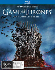Game of Thrones Complete Series Season 1 2 3 4 5 6 7 & 8 Blu ray Box Set RB