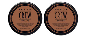 American Crew Pomade, Medium Hold 3 oz  (2 PACK)