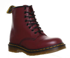 Dr Martens 1460 Womens Leather Ankle Lace Up Boots Uk Size