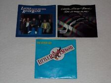 Little River Band 45 RPM vinyl singles with picture sleeves collection