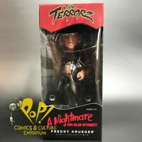 "Cryptozoic FREDDY KRUEGER Vinyl Terrorz NIGHTMARE On ELM Street 7"" Figure!"