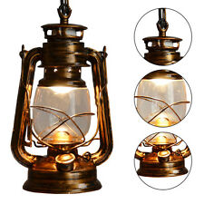 Vintage Industrial Wall Lamp Metal Cover Glass Light Lighting Home Cafe Castle