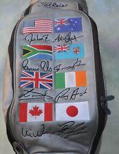 Rare Titleist World Flag Limited Edition Golf Bag.