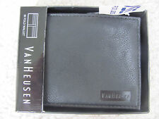 Van Heusen Men's Black Bifold Wallet-New With Tags and Box