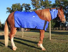 HYPERKEWL Evaporative Cooling Horse Neck Wrap - Size Large (Blue)
