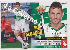 N°07 EDU ALBACAR GALLEGO # ESPANA ELCHE.CF STICKER PANINI ESTE LIGA 2014