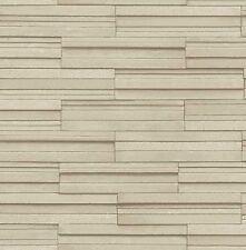 Decoración de paredes de color principal beige de piedra para el hogar