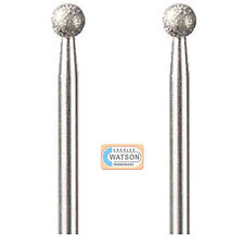DREMEL accesorios multiherramientas 7105 2 x 4.4mm Disco De Diamante Punto Doble