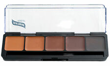 Graftobian HD Glamour Creme Palette, Neutral #3, All Skin Types, Cruelty Free