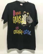VTG 90's Tazmanian Devil Looney Tunes I Was Grunge Before Was Cool T Shirt XL