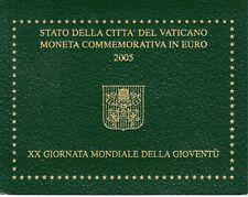 Vaticano, 2 E. 2005, XX Giornata Mondiale della Gioventù, FDC. Vatikan.