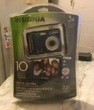 INSIGNIA NS-DSC10 10.0 MP Digital Camera - Blue ~ NEW IN PACKAGE