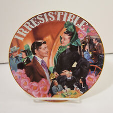 Gone 00004000  With The Wind Musical Treasures Irresistible Plate Aleta 1996 Bradford