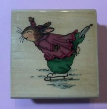 Holly Pond Hill Emily Ice Skating F 13161 New Uptown Rubber Stamps