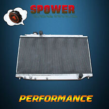 52MM Aluminum Radiator For Toyota Supra MK4 JZA80 Turbo L6 3.0  Manual 1994-1998