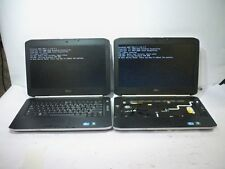 Lot of 2*Dell Latitude E5420 Laptop i3&i5/4GB RAM POST MISSING PARTS/NO AC/HDD