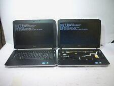 Lot of 2*Dell Latitude E5420 Laptop i3&i5/4GB RAM POST MISSING PARTS/NO AC/HDD