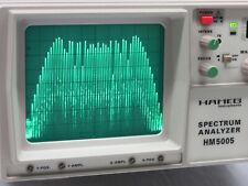HAMEG HM5005 HM-5005 Spectrum Analyzer Sprektrumanalysator 0,5-500MHz