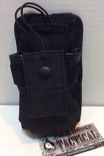 MOLLE Radio Pouch Tactical Vest Battle Belt Radio Utility Pouch CB COMMS BLACK