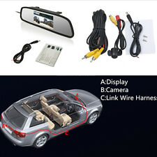 """170° Wide Angle Autos Reverse Parking Camera & 4.3"""" LCD Rearview Digital Monitor"""