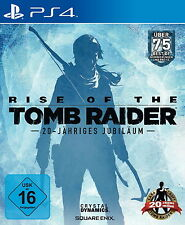 Rise Of The Tomb Raider - 20 Year Celebration (Day One) (Sony PlayStation 4) NEU