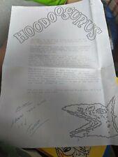 New listing RARE HOODOO GURUS VINYL SINGLE PLUS SIGNED HOODOO GURUS HEADED LETTER MY GIRL