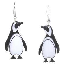 Acrylique Pingouin Boucles Par Amour Boutique Mignon Pendantes Cadeau