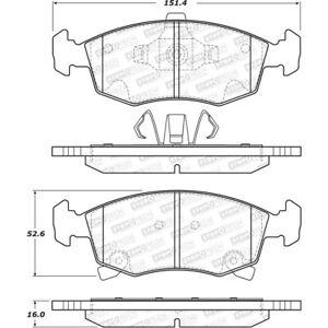 Disc Brake Pad Set Front Stoptech 308.15680