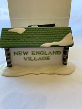 Dept 56 New England Village - New England Village Sign 65706