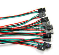 10pcs 3Pin 70cm Cable Female-Female Jumper Wire for Arduino 3D Printer Reprap