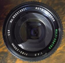 Zoom Multicoated Camera Lens Sears Model 202 7375020 Korea 80-200 mm f/1:4