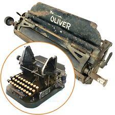 Oliver No.2 Typewriter CARRIAGE Antique Schreibmaschine Part Vtg