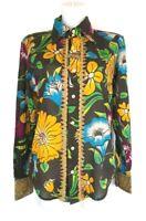 M1) Marken Designer Rag Recycle RARE RAER Damen Hemd Bluse Gr. S XL