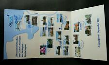 Germany Private Post CITIPOST 2007 Flower Lighthouse Tourism (folder set) *rare