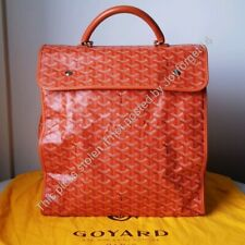 Auth Excellent Condition GOYARD Sainte Lucie - Orange *FREE SHIP*