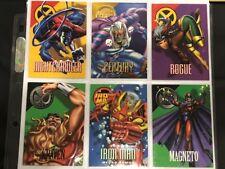 Marvel Vision 1996 Trading Card Lot X-Men Iron Man Lethal Foes Force Works