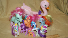 My Little Pony Lot With Working Swan Boat