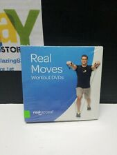 Real Moves 6 Workout DVDs Appeal 2015 New Sealed David Jacks Exercise Fitness
