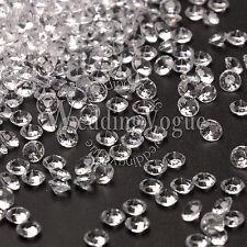 1000 Diamond Confetti 4.5mm 1/3 Carat Table Wedding Supply Party DIY Decoration