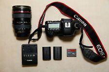 Canon EOS 5D (CLEAN!!!)  Mark II 21.1 MP Digital SLR Camera + 24-105mm