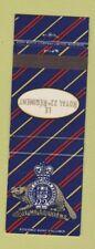 Matchbook Cover - Le Royal 22e Regiment Canada Military