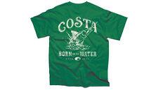 NEW Costa Del Mar Baja T-Shirt Mens Short Sleeve Kelly Green Medium BAJA01KG