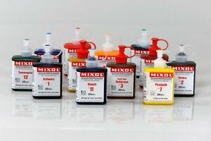 Mixol 200 ml - Universal Abtönfarben Abtönpasten Abtönkonzentrate Pigmente Korb