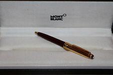Montblanc Meisterstück Mozart N° 116 Solitaire Doue Kugelschreiber Bordeaux Gold